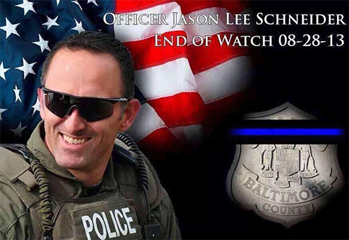 R.I.P Officer Jason Lee Schneider